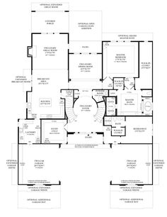 double staircase foyer house plans Google Search Interior