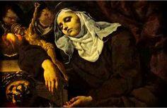 Výpoveď svätej Magdalény de Pazzi o očistci St Raphael, Mary Magdalene, Santa Maria, Christian Life, Large Art, Art Reproductions, Art For Sale, Christianity, Mystic