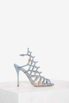 23c786e2717 Schutz Juliana Suede Heel - Blue - Shoes Shoes Heels Pumps