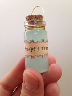 Harry Potter Potions Ornament: Snape's Tears 4 by FreshParchment