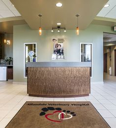61 best Reception areas: Veterinary hospital design images on ...