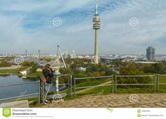 Tourist In Olympiapark Munich, Germany Editorial Photo - Image: 100954631