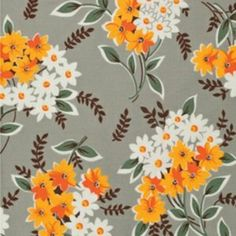 Denyse Schmidt, Flea Market, Fancy Bouquet Grey