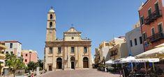 Kreta-Rethymon-Griechisch-Orthodoxe Kirche Kirchen, San Francisco Ferry, Travelling, Building, Mosque, Crete, Temples, Buildings, Construction
