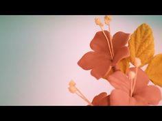 *Cómo hacer flores de pasta de goma para tartas | facilisimo.com - YouTube