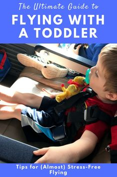 Flying with a Toddler / Toddler Travel Tips / Tips for Flying with a Toddler / Toddler Mom / Travel / Family Travel Toddler Vacation, Toddler Travel, Travel With Kids, Family Travel, Parenting Toddlers, Good Parenting, Parenting Hacks, Flying With A Toddler, Kids Checklist