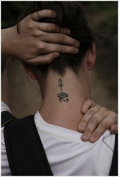 Damn, already want the deathly hallows there... but i want these ones too - The Eye of Horus and the Ankh, cross of life