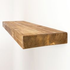 Floating Shelf Made From Chunky Solid Wood In Our Rustic Range With A  Choice Of Different Wax Finishes And Sizes 12x3