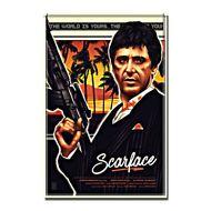 Original Movie Film Poster A4 A3 Laser Print 1983 SCARFACE