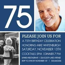 27 Best 75th Birthday Celebration Images