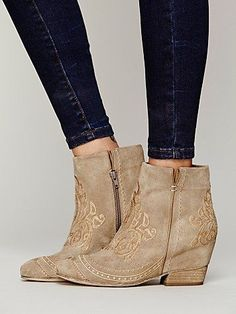 SWOONING over these free people athina ankle boots!!! NEED!