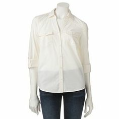 Roll tab shirt -want it in Betty wash color.