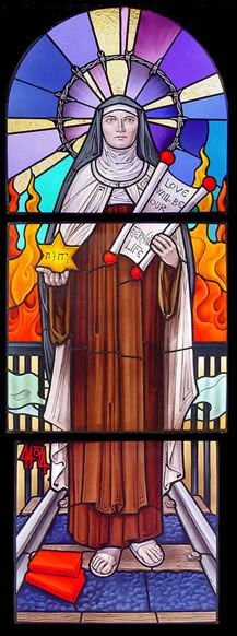 St Edith Stein, Monastery of the Holy Name, Denmark, WI.