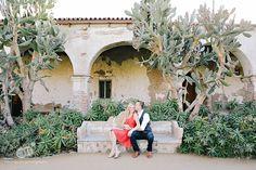Mission San Juan Capistrano Engagement Session Photos // www.miminguyen.com