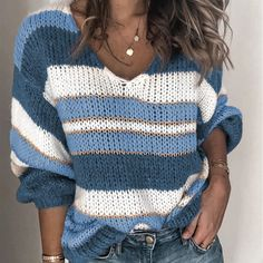 Loose Knit Sweaters, Casual Sweaters, Girls Sweaters, Long Sweaters, Pullover Sweaters, Sweaters For Women, Chunky Knit Jumper, Winter Sweaters, Cardigans