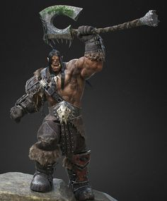 Grommash Hellscream, Luiz Aroca on ArtStation at…