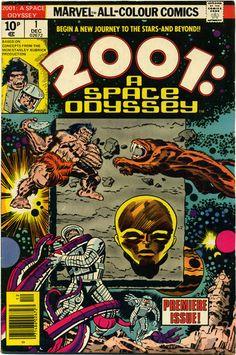 2001 A SPACE ODYSSEY 1 JACK KIRBY ART HIGH GRADE 1976 | eBay
