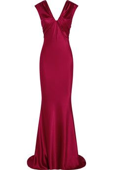 Oscar de la Renta Silk gown | THE OUTNET