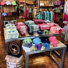 We've been in retail stores for almost a year now, yet every time we walk in and see a Southern Shirt display, we can't help but smile.