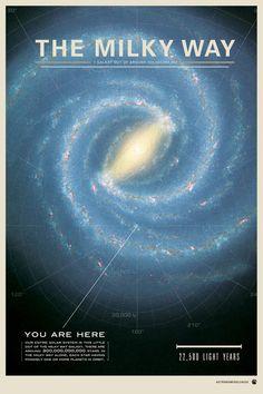 "The Galaxy  by Mike Gottschalk  Art Print / MEDIUM (Gallery) (17"" x 23"")    $33.00"