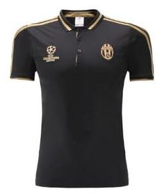 2017 Polo Juventus Champions Negro