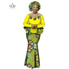 2020 Autumn African Skirt Set For Women Dashiki 2 Piece Sets African Clothes Elegant Traditional African Clothing _ {categoryName} - AliExpress Mobile Version - African Attire, African Wear, African Dress, African Shirts, African Clothes, Traditional African Clothing, African Fashion Ankara, Dashiki, African Design