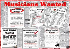 Music Careers ~ Bulletin Boards for the Music Classroom