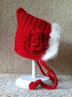 Toddler Girl Crochet Pixie Hat (18 to 36 Months). $18.00, via Etsy.