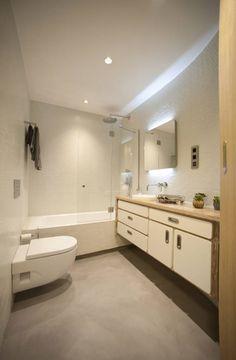 Baño de invitados : 모던스타일 욕실 by MADG Architect