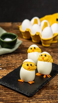Stuffed egg chicks for Easter Make Ahead Brunch Recipes, Healthy Casserole Recipes, Healthy Brunch, Ube Recipes, Dog Food Recipes, French Toast Brunch Recipe, Bolo Minnie, Food For A Crowd, Food Videos