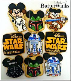 Epic Disney Star Wars Weekends Cookies