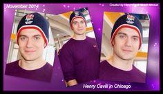 Henry Cavill in Chicago <3