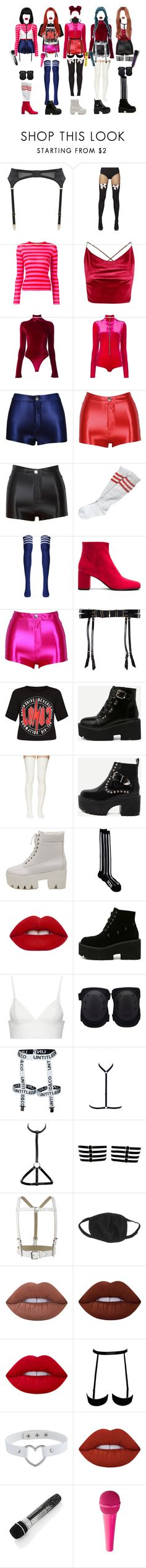 """""""[ live ] G-3 _ MY LOVE"""" by xxeucliffexx ❤ liked on Polyvore featuring Edge o' Beyond, Ermanno Scervino, Boohoo, Alix, Emiliano Rinaldi, Yves Saint Laurent, Bordelle, Sacai Luck, WithChic and KTZ"""