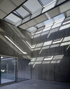 Entrada de luz natural no edifício