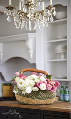 Feathered Nest Friday - FRENCH COUNTRY COTTAGE
