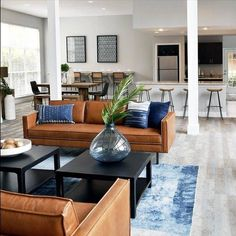 45 simple and modern living room designs for quiet people 8 New Living Room, Living Room Sofa, Interior Design Living Room, Home And Living, Living Room Designs, Living Room Decor, Modern Living Room Furniture, Coastal Living Rooms, Decor Room