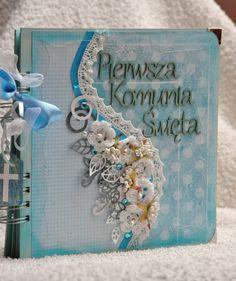 album na Komunię św.