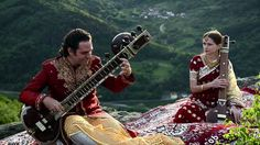 Traditional Indian Music. Not only love the sound but the scenery is perfect! Go to the halfway point to hear all of the instruments together :)