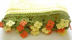 How to Crochet the Neapolitan Lace Edge - YouTube