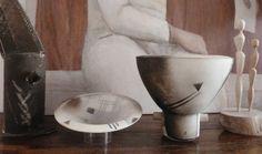 Ceramics et Totem A§M Simon - Sculpture bois de mon papa