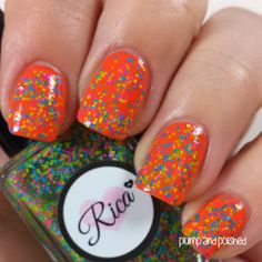 Plump and Polished: Rica - Unicorns in Technicolor Collection - Bottled Unicorn Fart Tried