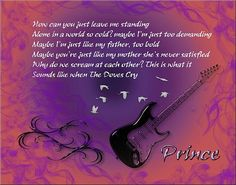 Prince - when doves cry