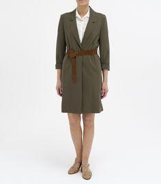 YARGICI military green topcoat. Added my wishlist :)
