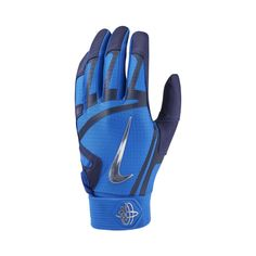 wholesale dealer cd93a d7bb5 Nike Huarache Elite Baseball Batting Gloves Size S (Game Royal)