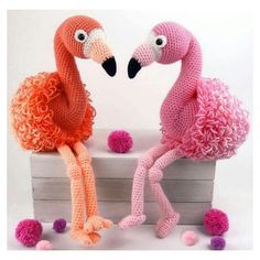 Mesmerizing Crochet an Amigurumi Rabbit Ideas. Lovely Crochet an Amigurumi Rabbit Ideas. Crochet Simple, Cute Crochet, Crochet Crafts, Crochet Projects, Crochet Flamingo, Crochet Birds, Flamingo Toy, Bird Patterns, Easy Crochet Patterns