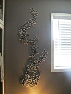 Avec 16 rouleaux de papier toilette, on peut en faire de jolies choses !