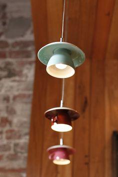 teacup pendant light - Google Search