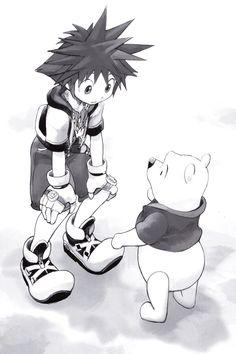 Sora & Pooh
