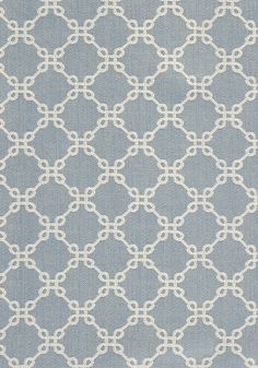 FR Pillows BOWEN, Sky Blue, W74336, Collection Woven 3: Geometrics from Thibaut