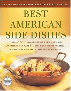 The americas test kitchen diy cookbook pdf hobbies pinterest best american side dishes best recipe editors of cooks illustrated 9780936184852 forumfinder Choice Image